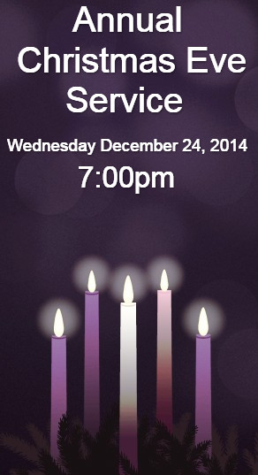 Advent Wreath Website Sidebar